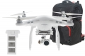DJI Phantom 3 Advanced Quadrocopter mit Zusatzakku und Transport